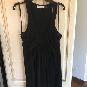 Black Cocktail Dress Calvin Klein Size 10